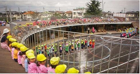 People Doing Good - Japanese Roof Kindergarden