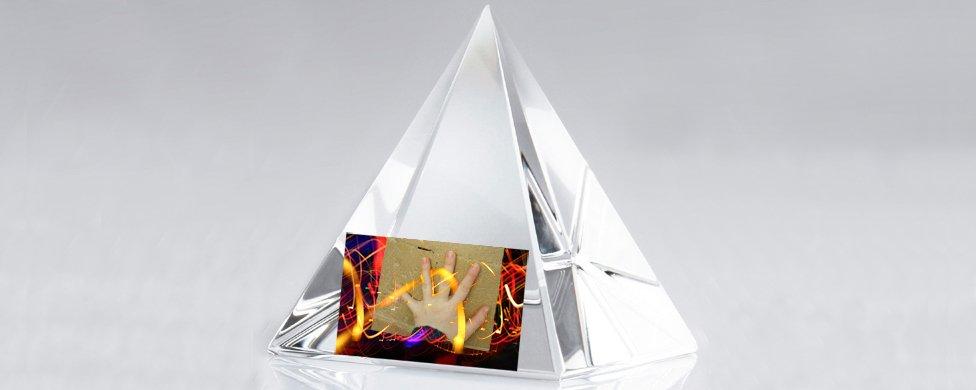 New Equations Music crystal pyramid logo Music Blog