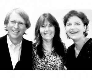 Alan Sheets, Siska Tovey and Siv Roland, the three members of The Sound Aligners.