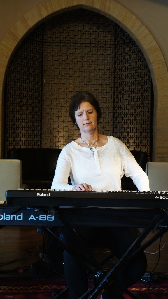 Siv Roland playing New Equations Music in Egypt