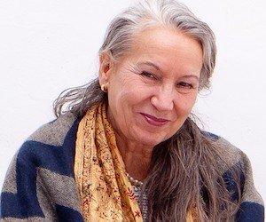 Betty Kraus smiling