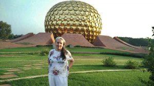 Betty in Auroville