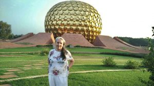 Betty in Auroville